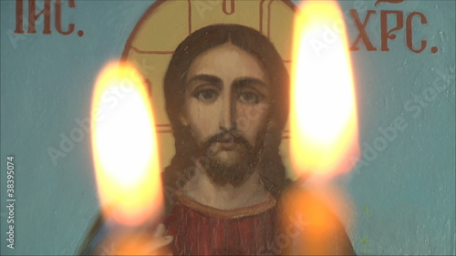 Church icon, icon of Jesus