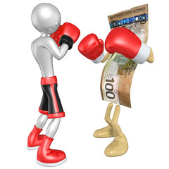 Boxer Versus Money