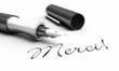 Merci! - Stift Konzept