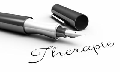 Therapie - Stift Konzept
