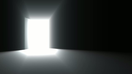 Door open animation