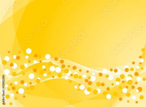 Abstract striped background with confetti