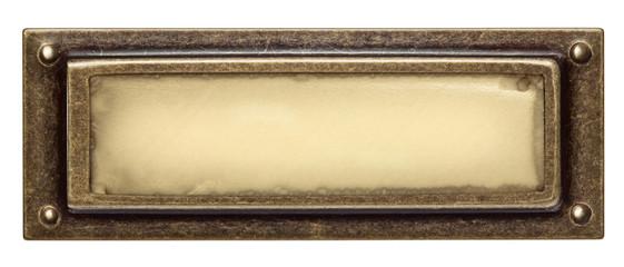 Metal frame