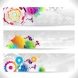 Web banners abstract