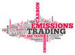 "Word Cloud ""Emissions Trading"""