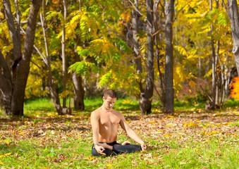 yoga padmasana pose