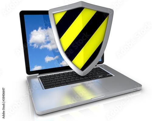 Laptop Schutzschild