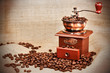 Vintage coffee mill