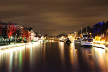 Night in Turku