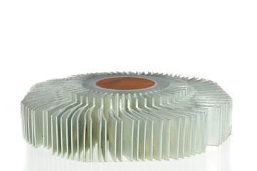 Round aluminum radiator