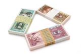 chinese paper currency of jiao poster