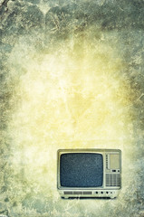 retro grunge tv