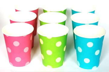 Cardboard cups