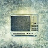 retro tv print
