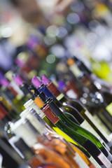 Vin, bouteille, cave, foire aux vins, boisson, alcool