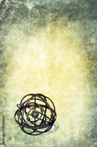 vintage globe background