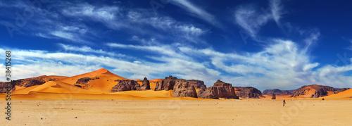 Tuinposter Zandwoestijn Sahara Desert, Algeria