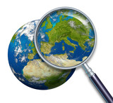 Planet Earth Focus On Europe
