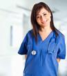 Nurse portrait