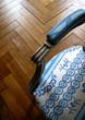 Fauteuil, parquet, style, meuble, maison, décoration