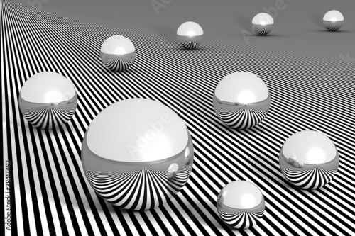 Abstract background - Spheres