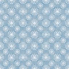 Seamless Spirals Background Blue & White