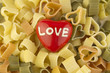 Valentines Day Heart Shaped Pasta