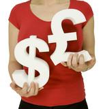 dollar versus pound poster