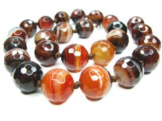 semiprecious sardonyx beads