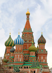 Moscow, St Basils Cathedral