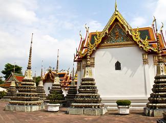 Wat Pho, The Temple of reclining buddha, Bangkok, Thailand.