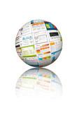 Homepage, Webdesign, Vorlagen, Templates, Kugel, 3D, Website