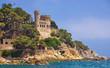 im bekannten Badeort lloret de Mar an der Costa Brava