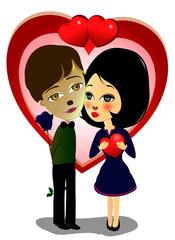 coppia fidanzati