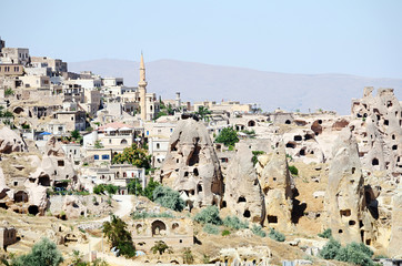 Speciel stone formation of cappadocia turkey