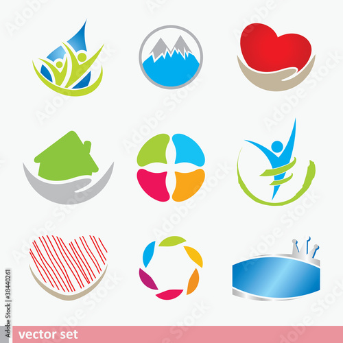 Icon design elements