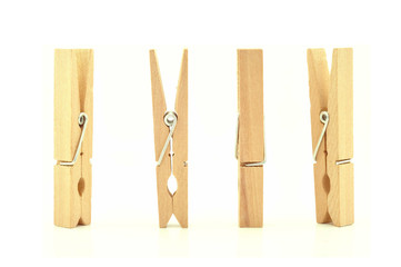 wooden clothes pin with Path