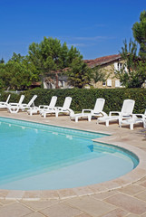 piscine d'un joli gite rural  # 03