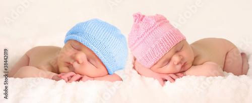 Newborn baby twins - 38442019