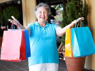 Senior Bargain Shopper