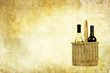 vintage wine backdrop