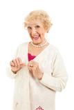 Senior with no Arthritis Symptoms poster