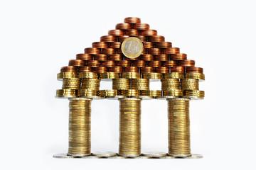 Euro Zentralbank symbolisch