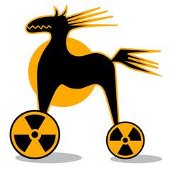 Trojanisches Pferd radioaktiv
