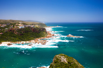 featherbed nature reserve in Knysna, South Africa