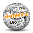 Unternehmen, Betrieb, Team, Kugel, 3D, wordcloud, tagcloud, SEO