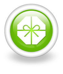 "Light Green Icon ""Present / Gift"""