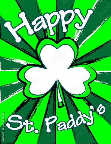 Leinwandbild Motiv Happy St. Patrick's Day!