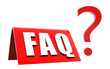 FAQ - Frequently Asked Questions - Fragezeichen