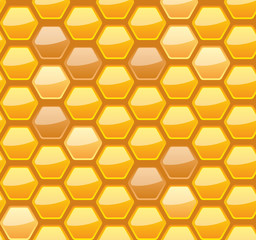 Seamless honeycomb for your design
